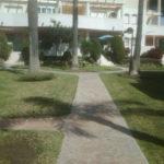 Alvarito playa. Arreglo y mantenimiento de la urbanización.